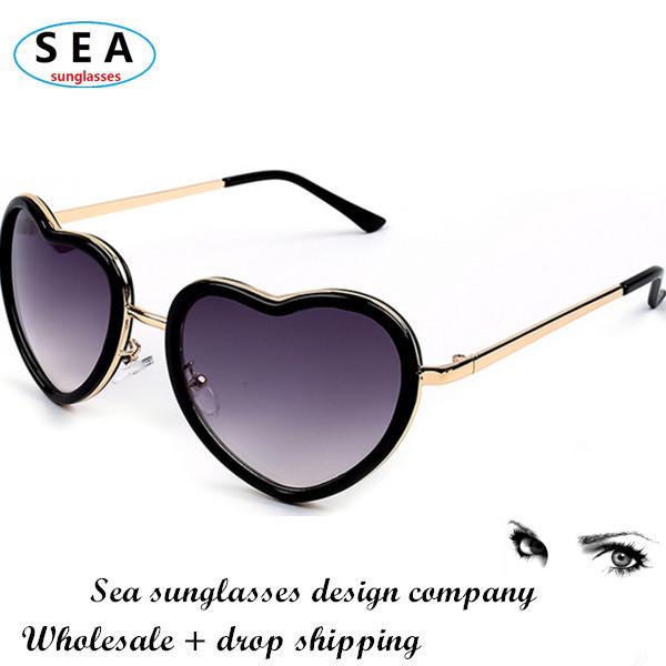 Женские солнцезащитные очки Sea oculos feminino de soleil coracao gafas s0491 женские солнцезащитные очки brand new 2015 gafas oculos feminino mujer de soleil sg10