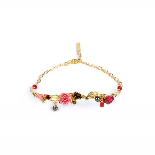 Les nereides French Luxury Jewelry birds bracelet Bangle 2015 fashion(China (Mainland))