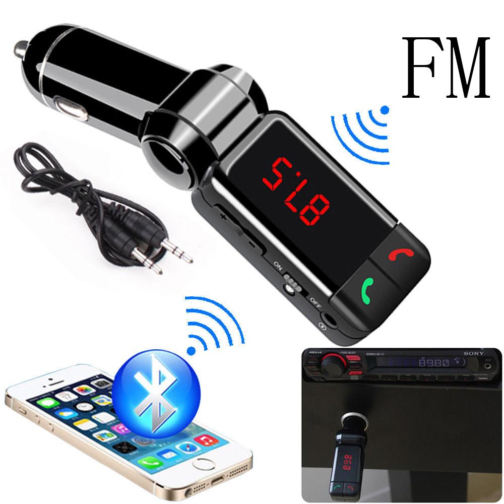 Universal MiNi A2DP 2.0 Bluetooth Car Kit Handsfree Wireless FM Transmitter Dual USB Charger MP3 Player Car Bluetooth Speaker(China (Mainland))