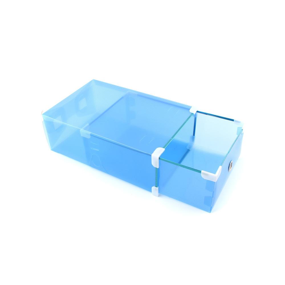 Stackable Ladies Shoe Boxes Drawers Wardrobe Organizers Storage(China (Mainland))