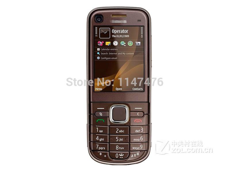 Free shipping 6720c Original cell phone 6720 classic A-GPS Bluetooth Java Music Unlocked Mobile Phone(China (Mainland))