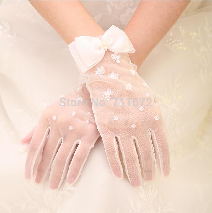 Свадебные перчатки No Figer 2015 G-2015042621