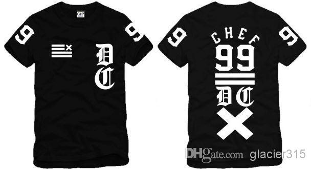 Free Shipping 2015 New Fashion 100% Cotton Tops Men CHEF 99 Casual Short Sleeve T Shirt Customized Print t-shirt(China (Mainland))
