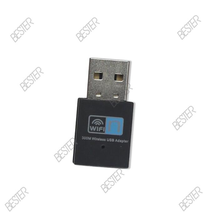 Mini wireless ethernet wifi adapter usb 300m with realtek 8192 chipset 802.11b/g/n 2.4GHz 20dBm USB2.0 wifi adaptor (BS422)(China (Mainland))