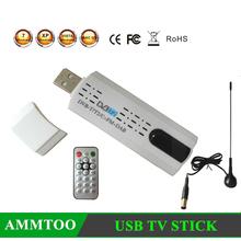 Digital Satellite DVB T2 USB TV Stick Tuner with Antenna Remote HD TV Receiver for DVB-T2/DVB-C/FM/DAB(China (Mainland))