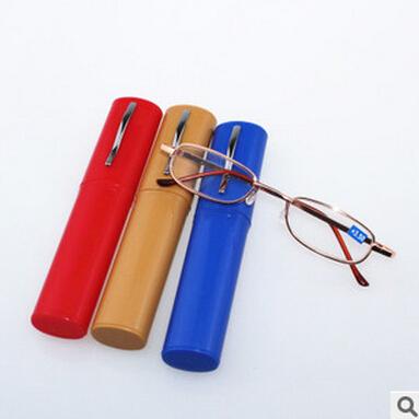 The new fashion for men and women framework brush pot Metal reading glasses resin+100+150+200+250+300+350(China (Mainland))