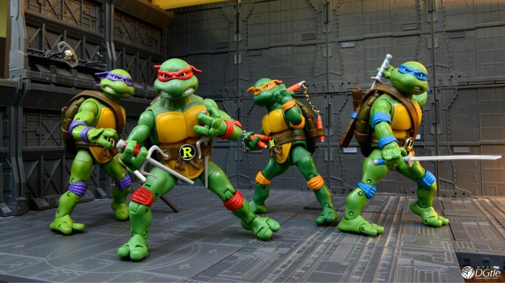 New Hot 3D Cartoon Teenage Mutant Ninja Turtles 3D Wall Stickers Decals Home Kids Boys Bedroom Decoration 3d Wall Stickers(China (Mainland))