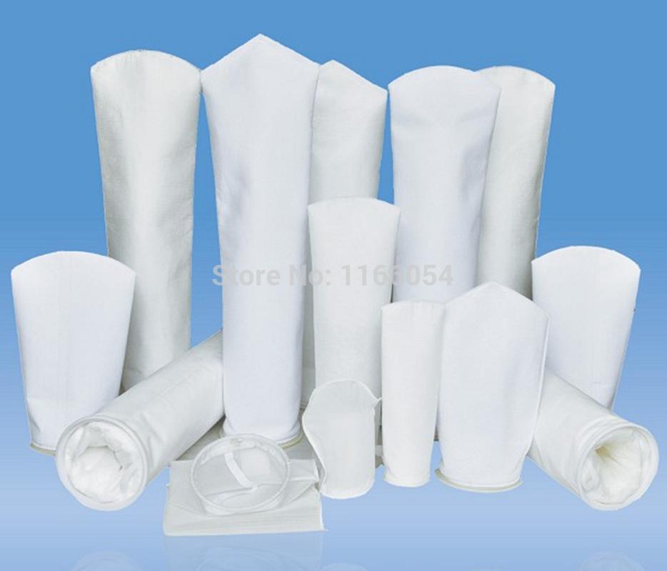 "150x550mm Industrial pocket Filter Sock Bags 1-200um micron mesh PP/PE 6""x20""(China (Mainland))"