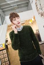 [1266-H01] 2013 Brand Fashion Men's Sweater, Ultra-soft mohair sweaters men's V-neck sweater Free Sweater(China (Mainland))