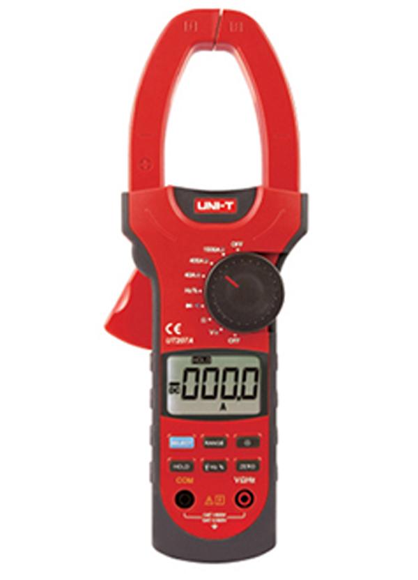Токоизмерительные клещи UNI-T UT207A LCD DC 207A токовые клещи uni t ut204a