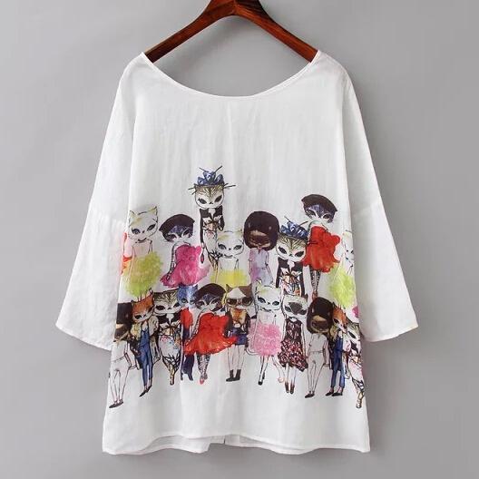 Женские блузки и Рубашки European 2015 Blusa Feminino женские блузки и рубашки romantic beach blusa femininas2015 sh022