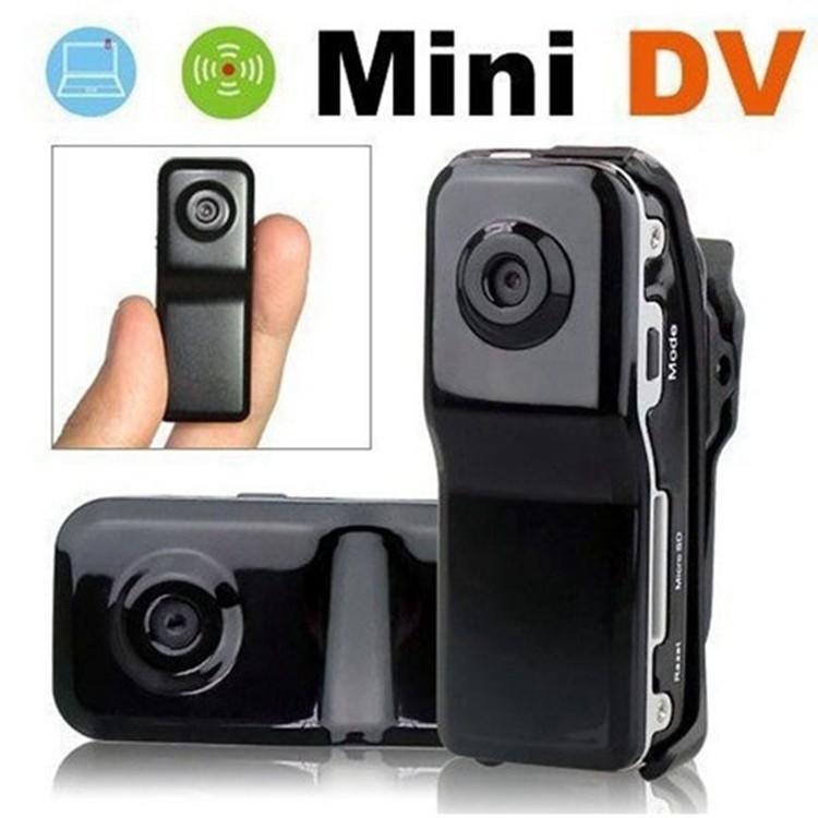 MD80+Bracket+Clip Mini Canrea cams 8GB 16GB Memory card HD DVR Sports Video Camera Mini DVR Camera &hidden with camera(China (Mainland))