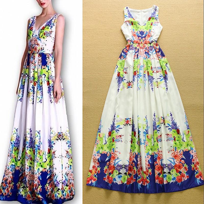 Дизайны летних платьев