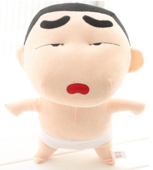 Wholesale 50 cm cartoon plush toys Crayon new shelves expressive inexpensive Y9070(China (Mainland))