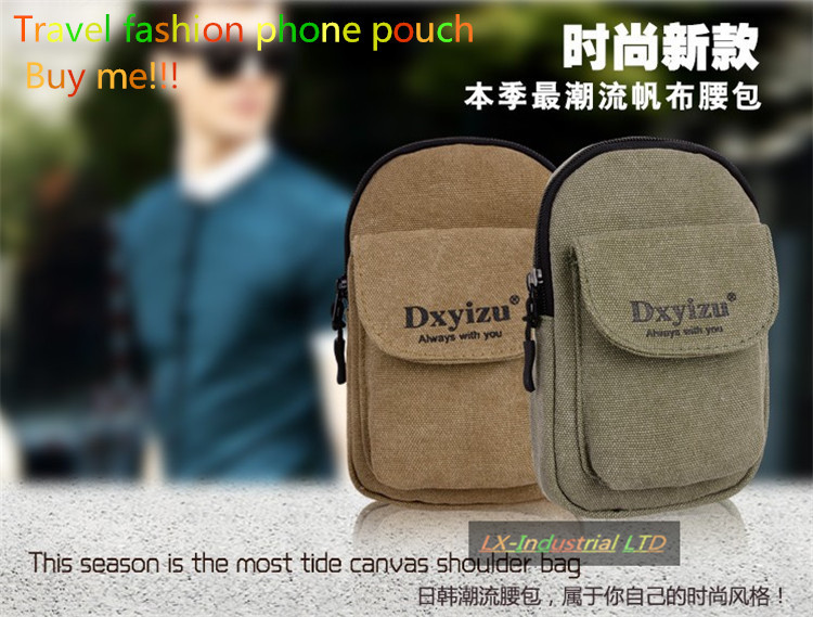 Fashionable canvas outdoor sport bag For Plum Plus II Z621 pouch(China (Mainland))