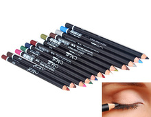 12 Colors Eye Make Up Eyeliner Pencil Waterproof Eyebrow Beauty Pen Eye Liner Lip sticks Cosmetics Eyes Makeup Hot 2015