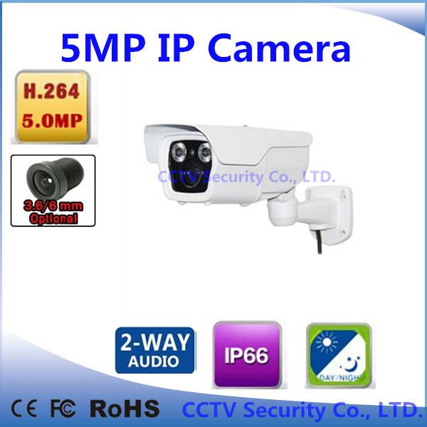 support audio 3.6mm array waterproof 5.0 magapixel hd ir p2p onvif cctv camera outdoor 5mp bullet(China (Mainland))