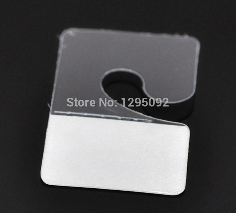 500Pcs New Fashion Jewelry Hanging Display Cards Adhesive Plastic Component 4.1x2.7cm(China (Mainland))