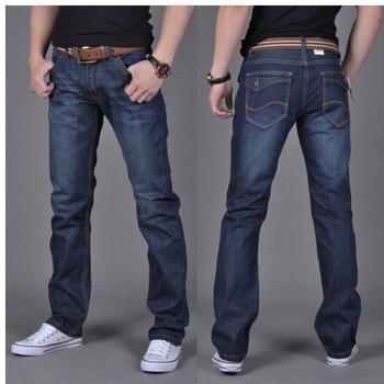 2015 новый тонкий был тонкий корейской версии классический мыть джинсовые отдыха диких мужских джинсов мужские джинсы американские джинсы марки