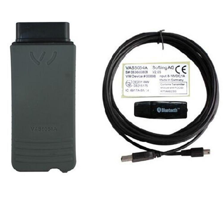 2015 New VAS5054 VAS 5054A Support ODIS V2.2.3 Bluetooth Support UDS Protocol Full Chip Version Automotive Tester Code Reader(China (Mainland))