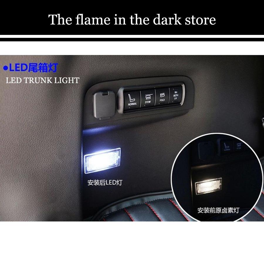 Лампа подсветки багажника The flame in the dark ford explorer