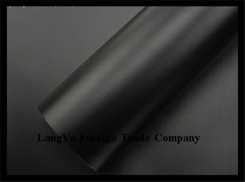 50*152cm/lot automobile car pvc protective Inferior smooth membrane film sticker black(China (Mainland))
