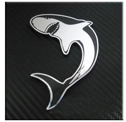 Shark Emblems Emblem Badge Sticker Shark