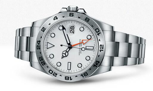 "Luxury men Explorer II ""Orange Hand"" Stainless Steel 42mm 216570 Vintage Business Automatic Men's Watches(China (Mainland))"
