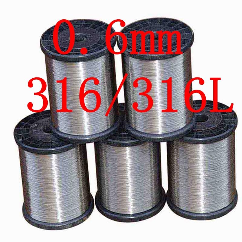 Гаджет  0.6mm,316/316L Soft Stainless Steel Wire,23 gauge around/0.6mm SS Seaworthy Thread None Строительство и Недвижимость