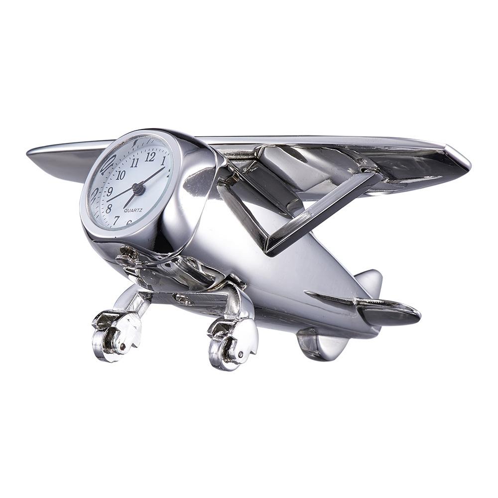 High Quality Toy Aircraft Model Desk & Table Clock Quart Analog Clock Creative Gift for Kids Decoration Desktop # RR209(China (Mainland))