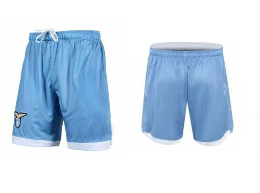 2014 15 Lazio Home White Soccer Shorts Thailand Quality Jersey Embroidery logo Running Shorts 14 15 Lazio Men Sportswear(China (Mainland))