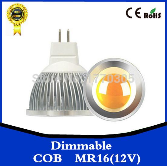 Free shipping 1PCS gu10 / E27 dimmable / GU5.3 / E14 / B22 / MR16 / 9W 12W 15w COB AC110-220V High Power Led cob Light Bulbs(China (Mainland))