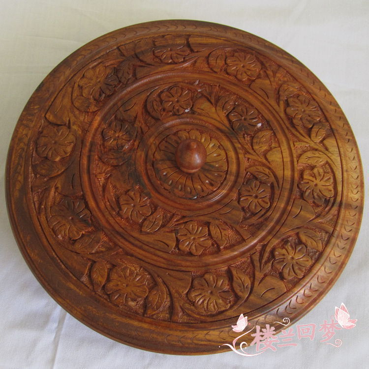 2013 new candy oval wooden box of dried fruit compote of dried fruit boxes by hand carved wooden boxes Pakistan(China (Mainland))