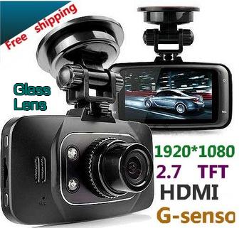 Автомобильный видеорегистратор Brand new Full hd, GS8000L 2.7 140 25 fps g dvr 17000204 gs 6301 hd купить во владимире