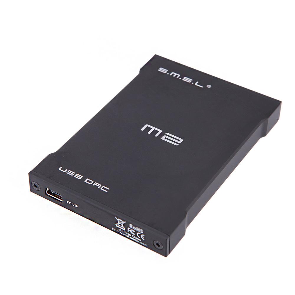 Design SMSL M2 USB Decoder DAC External Sound Card Built-in Headphone Amplifying Fiber/Optic & Analog Output(China (Mainland))
