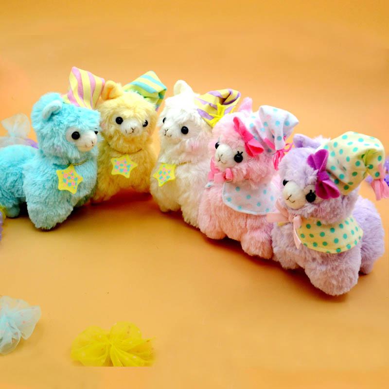 17cm Good Night Alpaca Japan Amuse Alpacasso Arpakasso Plush Stuffed Doll Toy Free Shipping(China (Mainland))