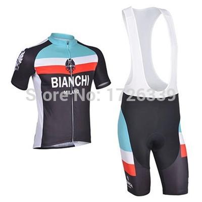 NEW cycling jersey set bianchi BIB Shorts maillot bicicleta road ciclismo racing Cycling clothing Bicycle BIBpants men women kid(China (Mainland))