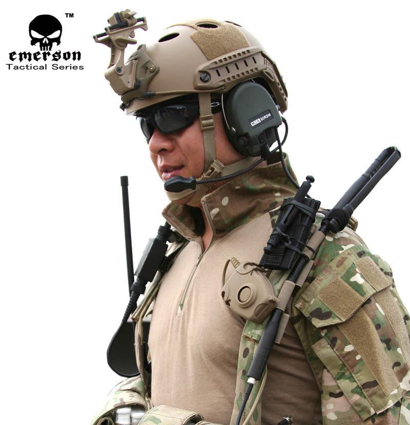 Защитный спортивный шлем  EMERSON , Airsoft PJ EM5668 защитный спортивный шлем aidy bmx aidy 618 black