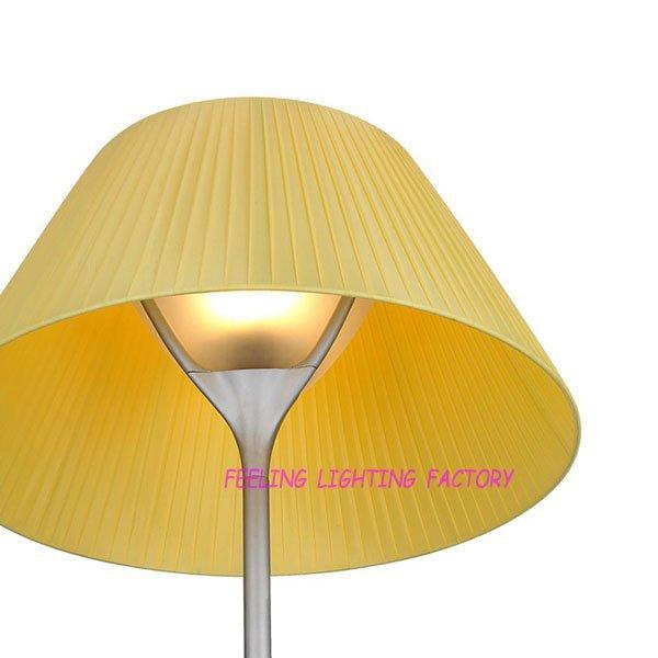 Free Shipping Wholesale Yellow Table Lamp Desk Light Modern 1 Light(China (Mainland))