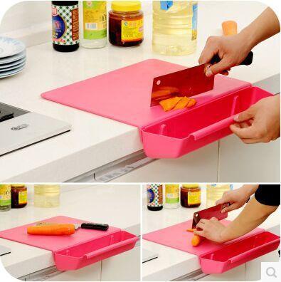 2015 Modern Foldable Storage basket Storage Box Bag Used For kitchen utensils Storage Rack kitchen organizer plastic box holder(China (Mainland))