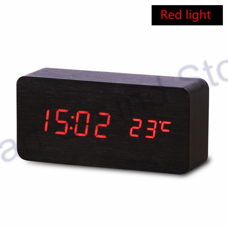 2015 Hot Selling Home Gadgets LED Alarm Clock Temperature LED display,electronic desktop Digital table clocks(China (Mainland))