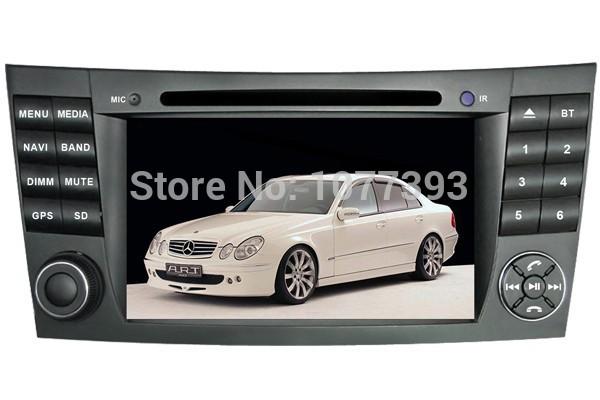FREESHIPPING Android 4.4.2 2 Din Car Radio PC For Mercedes Benz E Class W211,CLK W219 Autoradio DVD GPS 1GCPU 512M+4Gmap 3G Wifi(China (Mainland))