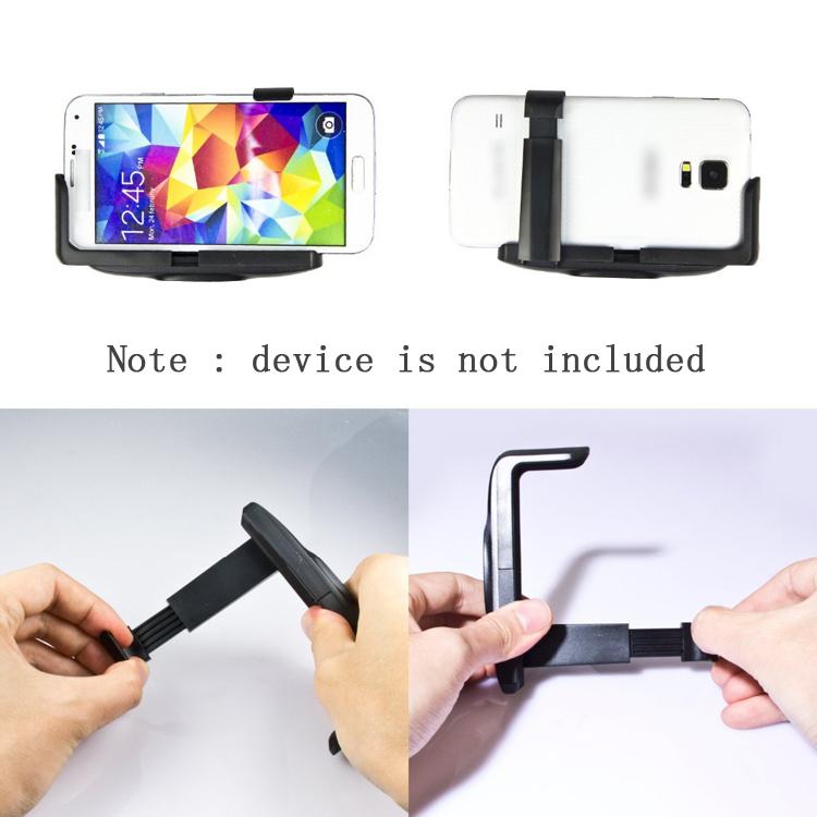 universal selfie stick monopod palo cell mobile phone clip holder for suporte para celular. Black Bedroom Furniture Sets. Home Design Ideas