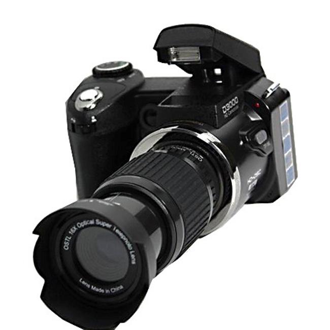 D3000 16MP HD Half-DSLR Professional Digital Cameras w/ 16x Telephoto & Wide Angle Lens(China (Mainland))