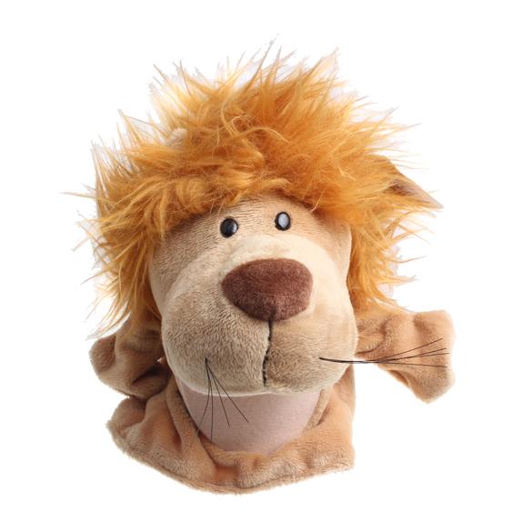 2015 New Plush Hand Puppet Baby Children Hand Stuffed Plush Puppet Toys Lion Money Tiger Giraffe Promotion Free Shipping(China (Mainland))