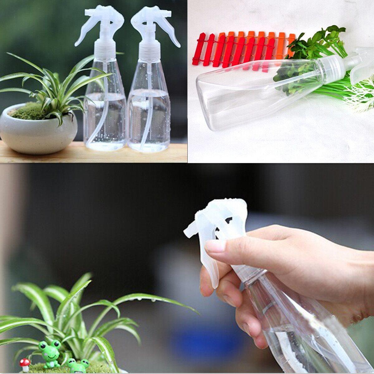 200ml Plastic Spray Bottle Bonsai Tools Moss Micro Landscape Fine Mist Refillable Perfume Spray Bottle 5x13cm(China (Mainland))
