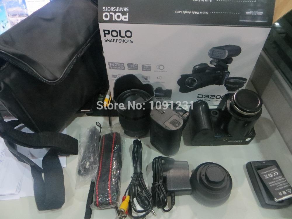 D3200 Digital Camera 16 million high-definition camera professional digital SLR camera 21X optical zoom HD camera LED headlamps(China (Mainland))