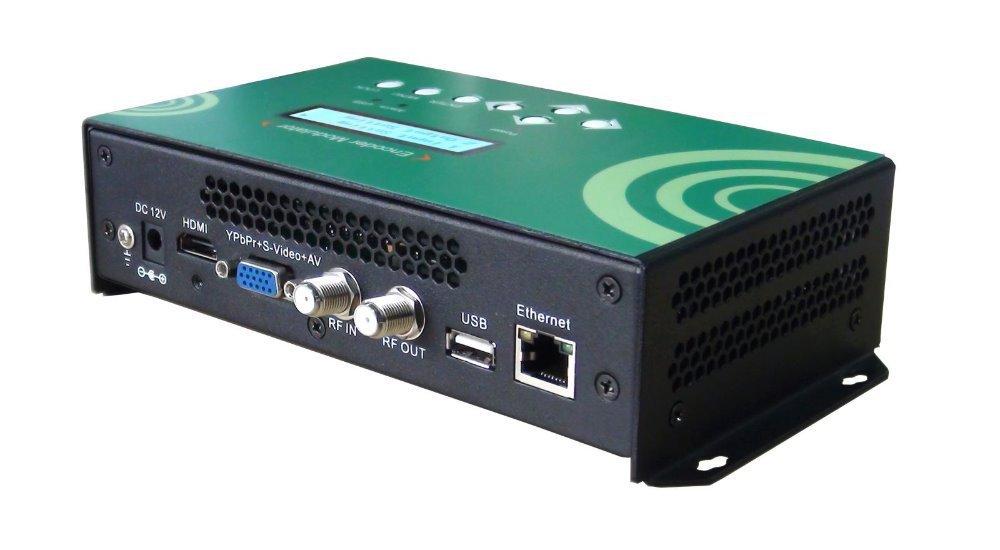 REM7511M-C HDMI+VGA to DVB-C RF H.264 HD encoding Modulator USB embedded with web NMS smart-version QAM modulator(China (Mainland))
