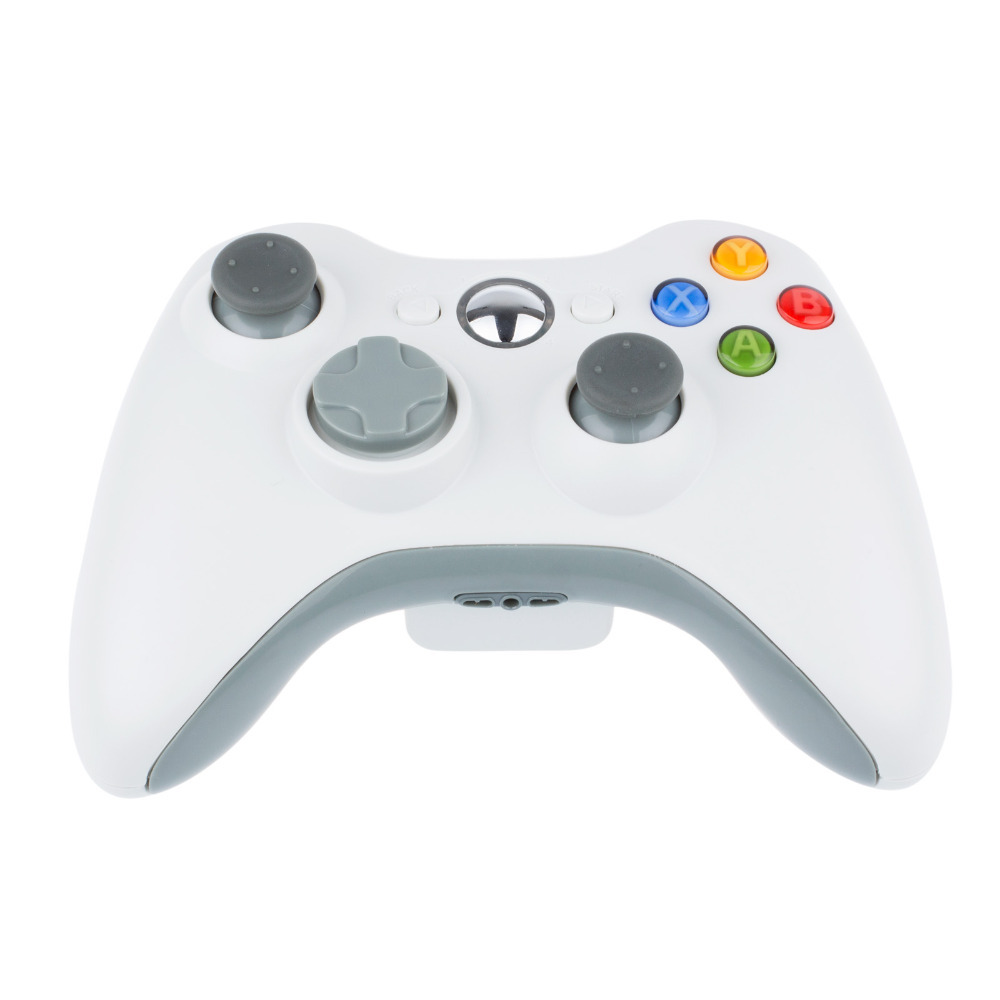 New Wireless Controller For XBOX 360 Wireless Joystick For Microsoft XBOX360 Game Controller White Color(China (Mainland))