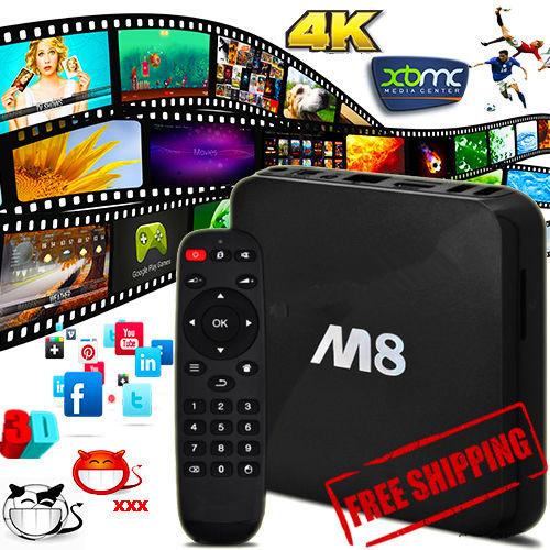 EM8 M8 Amlogic S802 Android TV Box Quad Core 2G/8G Mali450 GPU 4K HDMI XBMC 2.4G/5G Dual WiFi Smart Media Player Mini PC(China (Mainland))
